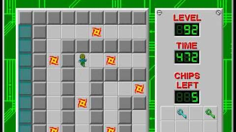 Chip's_Challenge_1_level_92_solution_-_444_seconds