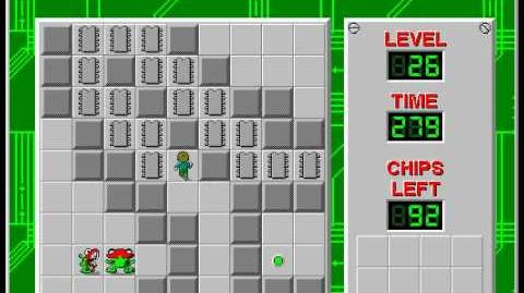 Chip's_Challenge_1_level_26_solution_-_254_seconds