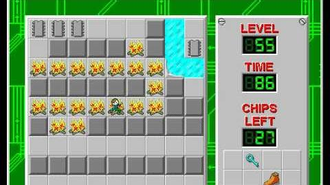 Chip's_Challenge_1_level_55_solution_-_70_seconds