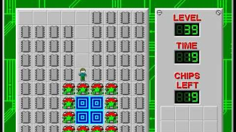 Chip's_Challenge_1_level_39_solution_-_17_seconds