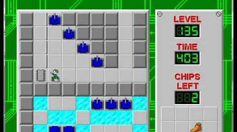 CCLP1 level 135 solution - 378 seconds