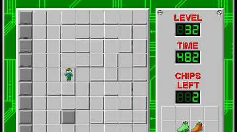 Chip's_Challenge_1_level_32_solution_-_379_seconds