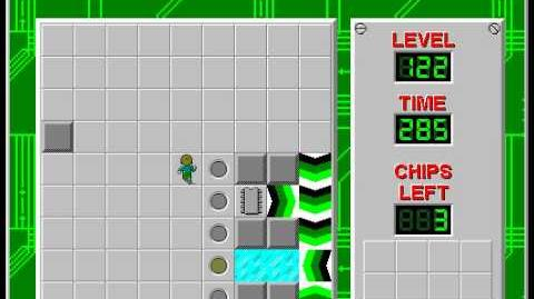 Chip's_Challenge_1_level_122_solution_-_272_seconds