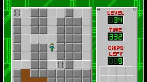 Chip's_Challenge_1_level_34_solution_-_297_seconds