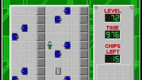 Chip's_Challenge_1_level_72_solution_-_961_seconds