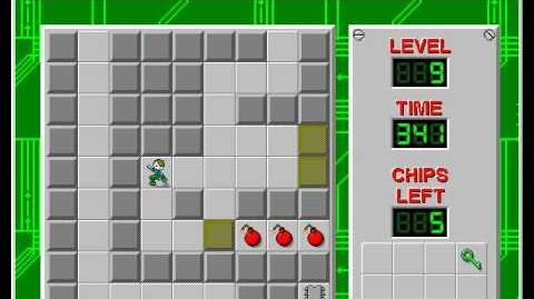 Chip's_Challenge_1_level_9_solution_-_306_seconds