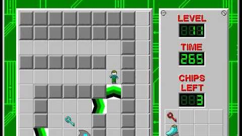 Chip's_Challenge_1_level_11_solution_-_211_seconds