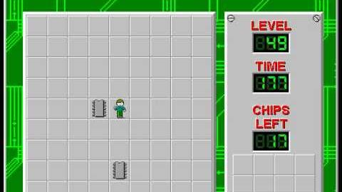 Chip's_Challenge_1_level_49_solution_-_162_seconds