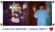 Jackeline Romero y su pareja Yashaii Moran