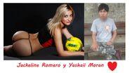 Jackeline Romero y Yashaii Moran