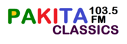 Radio Pakita Classics103.5 (Logo 2020)