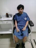 Yashaii Moran en la clinica (1)