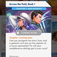 Across The Void Book 1 Ch 1 Description
