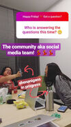 The Community AKA The Social Media Team