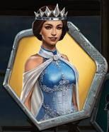 Kenna in a Regal Blue Gown