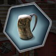Trh3 horn of ale beer pint mug