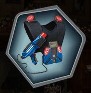 Laser tag vest gear