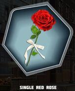 D&D Single Red Rose