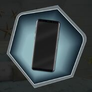 Wabr marshal black cell phone