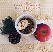 TRH3 Apple Crisp Mug Recipe Part2 Release Date