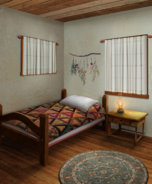 Daly Home - Briar's bedroom