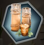 Scented Bronze Aroma Spa Candles