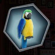 Mm parrot puppet plush toy
