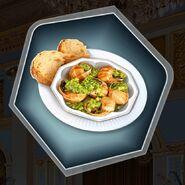 Stuffed escargot haute cuisine