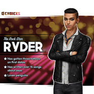 Ryder the Rock Star Bio