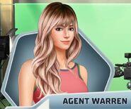 RCD MC F4 Agent Warren