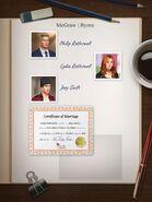 LOA Ch7 Marriage Certificate Clue