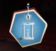 Hssca3 second place trophy
