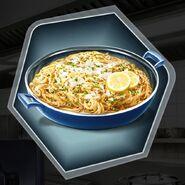 Comfort pasta lemon dish spaghetti