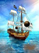 DS flying cannonballs at Revenge