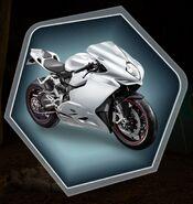 TRH Bertrand's motorcycle