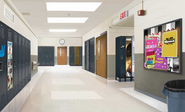 Westchester High Hallway
