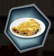 RoD Dad breakfast omelette