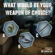 WTD Sneak Peek Weapons