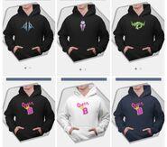 Le merch hoodies