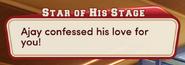 Ajay Love Confession for MC