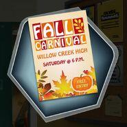 Weh fall carnival flyer
