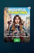 In-AppAnnouncementforWishfulThinking