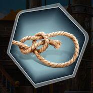 Ds Boatswain bowline knot