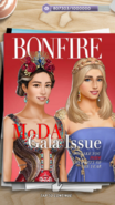Avery F w MC on Bonfire Magazine