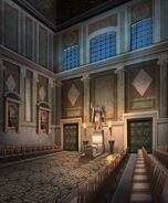 ACOR Basilica Interior Night