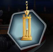 Hssca3 first place trophy