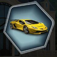 Trh3 raoul yellow car