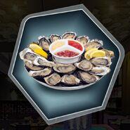 Avsp oysters half shell
