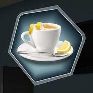Oh espresso romano coffee cup lemon tea
