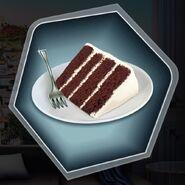 Chocolate fudge devil food cake
